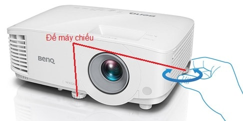 de may chieu benq mw550