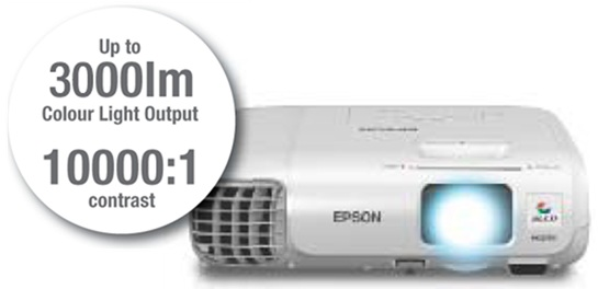 may chieu epson eb s29