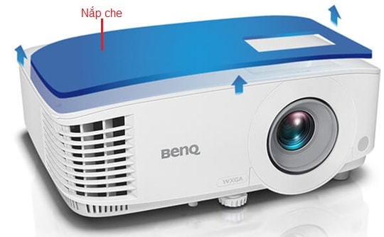 nap che may chieu benq mw550